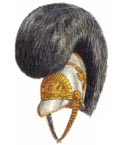 Officer's full dress helmet 1815