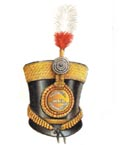 Officer's full dress shako 1816