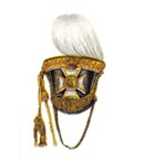 Officer's full dress shako 1831-46
