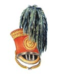Officer's full dress shako 1834
