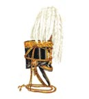 Officer's full dress shako 1846-55