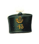 Private's forage cap 1852