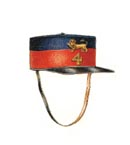 Officer's forage cap 1852-1881