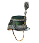 Officer's Full Dress Shako 1894